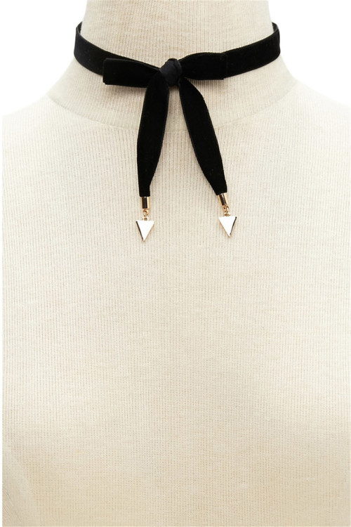 N-6488 bohemian vintage style black long leather chain Collar Necklace for women jewelry