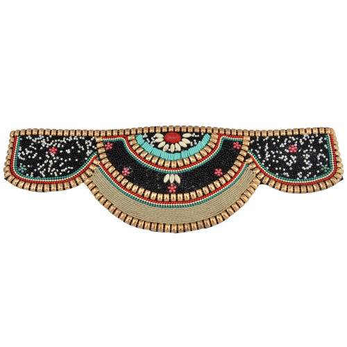 N-6541 Retro Charms Ethnic Beaded Elastic Strech Adjustable Belt Waist Belly Chain Body Jewelry