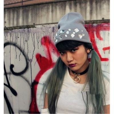 N-6543 Gothnic Punk Style White Black PU Leather Choker Necklace Circle Pendant Fashion Short Necklaces Women Accessory