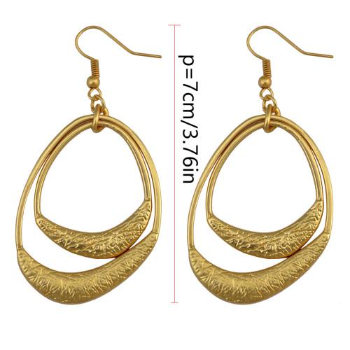 E-3994 2 Colors Vintage Retro Style Dangle Drop Earrings For Women & Girls Jewelry