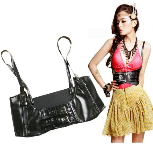 N-6835 2 Colors New Arrive European Style Leather Strap Belt Waist Body Jewerly for Women