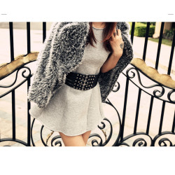 N-6836 2 Colors Fashion PU leather European Style Sexy Belt Waist for Women Jewelry