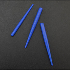 I-0020 12Pcs Blue Taper Expander Ear Plug Gauge Body Piercing Wholesale