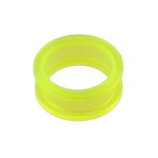 I-0016 Green Circle Ear Plug  Body Piercing