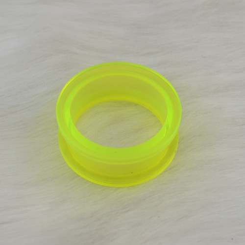 I-0016 Green Circle Ear Plug  Body Piercing