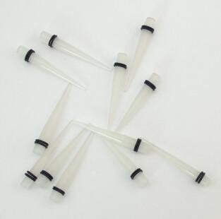 I-0032 2 Size  3/5 mm Multi Gauges Ear Plug Expander Stretcher Piercing Lots 12Pcs