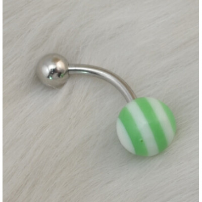 I-0052 12pcs Acrylic Belly Button Ring helix Belly bar Navel Rings Body Piercing Jewelry