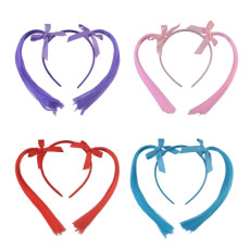 F-0423 4 Colors Lovely Girl Bowknot Hairbands Cosplay Party Costume Hair Accessories Fasion Jewelry