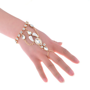 B-0856 2Color New Fashion Full Crystal Boho  Bracelets For Women Jewelry
