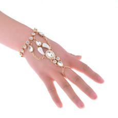 B-0856 2Color New Fashion Full Crystal Boho  Bracelets For Women Jewelry