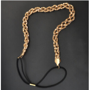 F-0441 New Fashion Gold Silver plated Alloy Chain Hairband Head jewelry for women Accessory