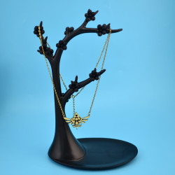 N-5486 Bohemian Vintage Pendant Dangle Phoenix Shape Bronze plated Charm Chain Dangle Necklace for Women Jelwery