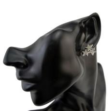 E-1595 Cute Jewelry Rhinestone Star Stud Earrings for Women Lovely Girl Party Earring