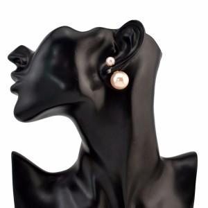 E-0295 European style Pearl  Alloy Simple Stud Earring for Women Jewelry