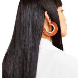 E-4202 6 Colors Fashion Gold Alloy Round Ear Tassel Pendant Earrings For Women Charm Jewelry