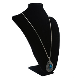 N-5218 Fashion Big Crystal Pendant Necklaces for Women Boho Wedding Party Birthday Gift Jewelry