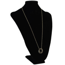 N-2295 New Fashion Long Silver Alloy Round Pendant For Charm Women Jewelry