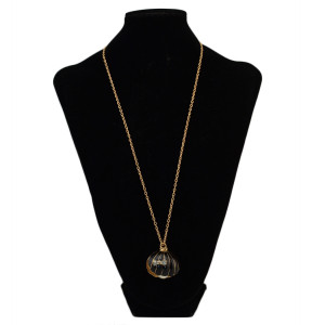 N-2350 New Vintage Long Chain Shell Shape Pearl Pendant Necklace For Women