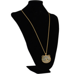 N-3346 Fashion Bohemian Style Metal Alloy Chain Owl Pendant necklace for Women Jewelry