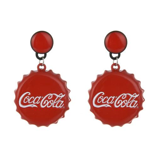 E-4247 New Arriva Bohemian Dangle Drop Coke bottle cap shape Women Earrings for Women Jewelry