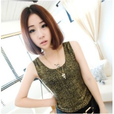N-4584 New Gold Plated Alloy Double Chain Enamel Triangle Pendant Sweater Necklace