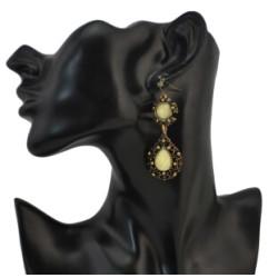 E-0252  E-0035 E-0305 E-0041 Fashion Charming Vintage Stone Stud Earrings For Women Ear Jewelry