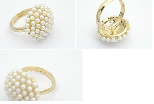 R-0634 R-0649 R-1281 R-1196 New Fashion Charm Puck Ring For Women