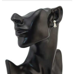 E-1615 E-1572 E-3467 Vintage Geometric Shape Pearl Stud Earrings for Women Bohemian Fashion Accessories