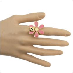 R-0624 R-0522 R-0703 R-0596 Vintage Gold Tone Engraving Flower Gem Stone Ring