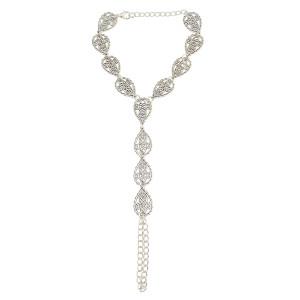 B-0859 New Fashion Vintage Silver  Bracelets For Women Jewelry