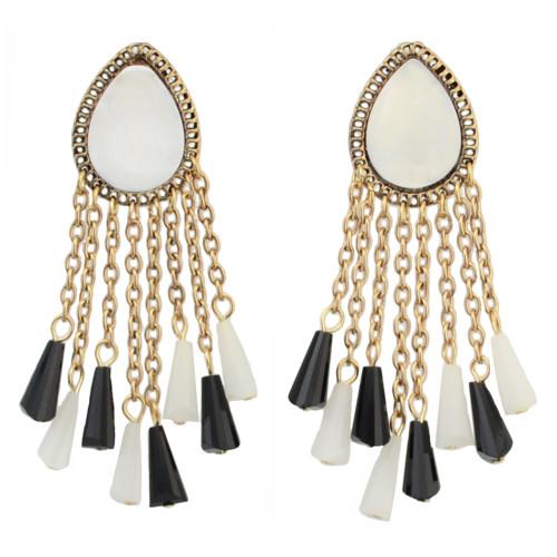 E-4282 Vintage Gold Plated Drop Earrings Charm Earring for Women Jewelry