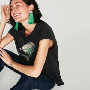 E-4285 6 Colors Women Rhinestone Long Thread Tassel Drop Earrings for Bohemian Wedding Party Fashion Accessories