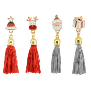 P-0379 4 Style 2 Colors Tassel  Brooches Accessories Brooch Pin Jewelry  For Men Women