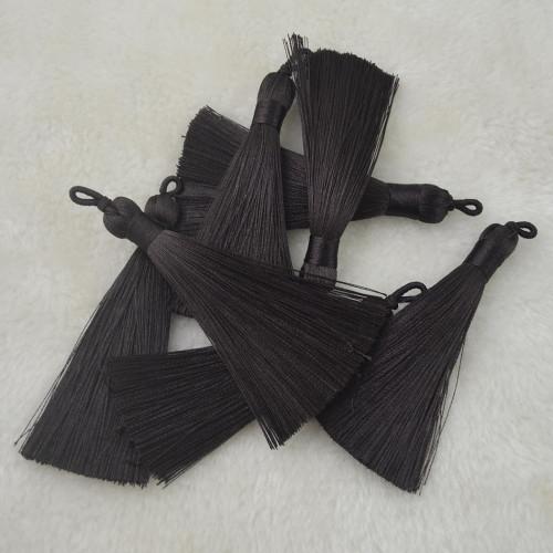 E-4370 10 Colors Handmade Charm Tassel Fashion Jewelry for Women Accessories