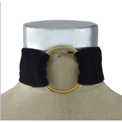N-6965 New Fashion Velvet Choker Necklace For Women Gothic Ribbon Necklace Female Jewelry Gifts