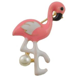 P-0392 4 Styles Bird Enamel Brooches Women Metal Animal Brooch Pins Dress Jacket Pin Fashion Accessories