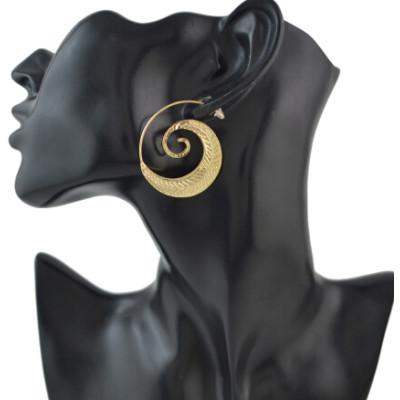 2 Color New Fashion Gold Silver Hook Earrings Hoop Drop Stud Earring Jewelry