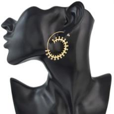 E-4480 Fashion Bohemian Geometric Wire Hoop Earrings for Women Party Fashion Accessories