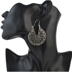 E-4498 Vintage Ethnic Tibetan Silver Hook Earring Dangling Earrings Tribal Jewelry 2 Style