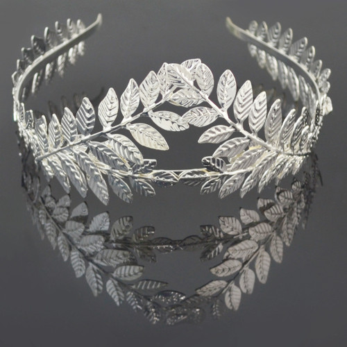F-0480 2 Style New Fashion Gold Plated Alloy Hairband Leaf Shape Hair Jewelry