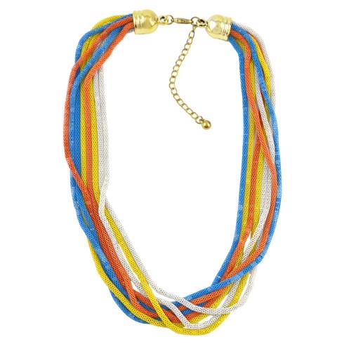 N-1006 Vintage Multilayer Short Choker Necklace for Women