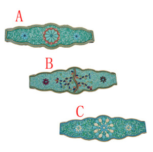 N-7041 Fashion Turquoise Beads Statement Waist Belly Chains for Women Bohemian Party Jewelry