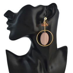 E-4568 3 Colors Trendy  Gold Metal Rhinestone Drop Earrings For Women Party Jewelry