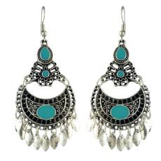 E-4581 Bohemian Retro Drop Dangle Earrings Tassels Hook Earring for Women