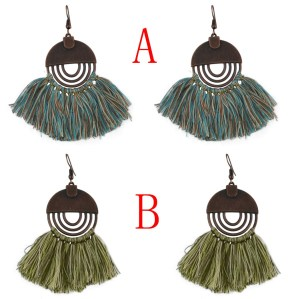 E-4587 Kashmiri New Style Designs Tassel Earrings For Women