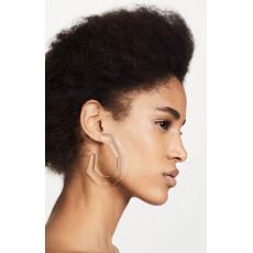 E-4590 8 Colors Geometric Acrylic Hoop Earrings For Women Charm Party Jewelry Wholesale