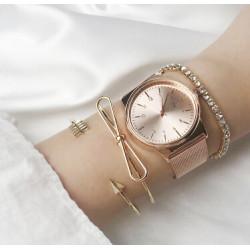 B-0888 Trendy Lady Gold Metal Knot Arrow Round Shape Open Cuff Bangles Bracelet For Women