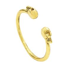 B-0148 New Fashion Vintage gold silver skull bracelet