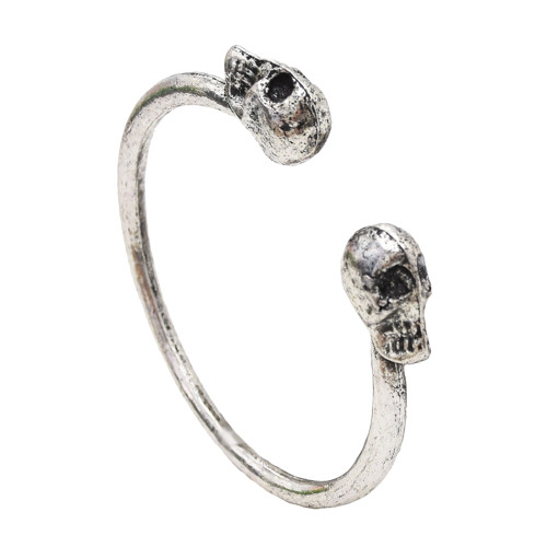 B-0148 New Fashion Vintage gold silver skull bracelet