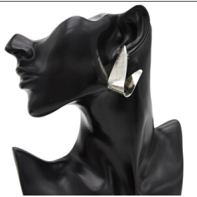 E-4762 Unique Silver Gold Alloy Geometric Shape Drop Earrings for Women Bohemian Party Jewelry Gift